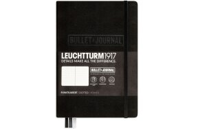 ΣΗΜΕΙΩΜΑΤΑΡΙΟ LEUCHTTURM BULLET JOURNAL MEDIUM Α5 BLACK